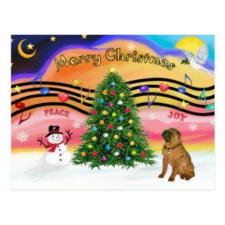 Christmas Music 2 - SharPei 4 Post Card