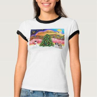 Christmas Music 2 - Shih Tzu (Pair 2) T-Shirt