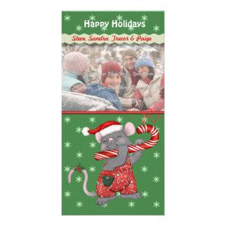 Christmas Music Mouse Card