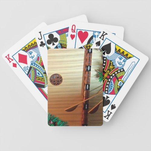 Christmas Music Playing Cards