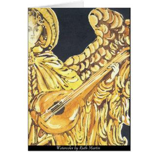 Christmas Musical Angel Card