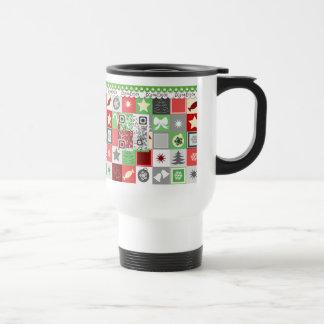 Christmas musical mug with funny video greetings