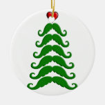 Christmas Mustache Tree Christmas Tree Ornaments