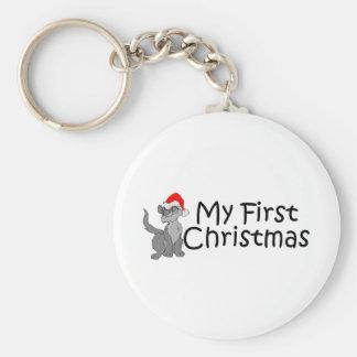 Christmas My First Christmas (Kitty) Key Chains