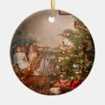 Christmas - My first Christmas Double-Sided Ceramic Round Christmas Ornament