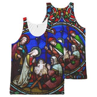 Christmas Nativity All-Over Shirt