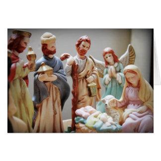 Christmas Nativity Baby Jesus Card