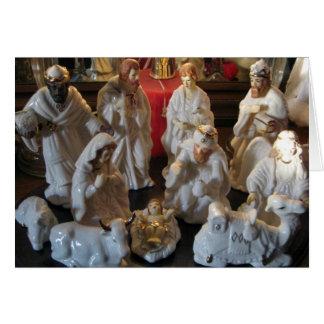 Christmas Nativity Blessings Card