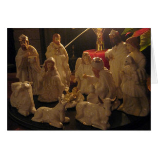 Christmas Nativity Blessings Card