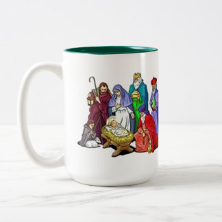 CHRISTMAS NATIVITY COFFE MUG