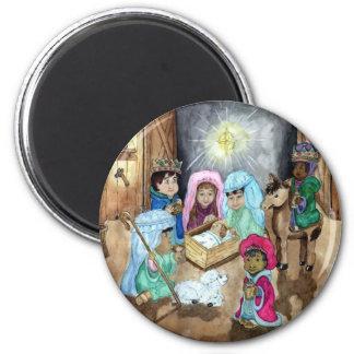 Christmas Nativity Magnet