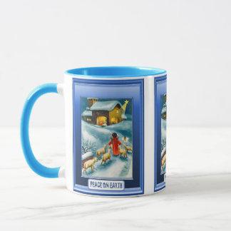 Christmas, Nativity,  Mug