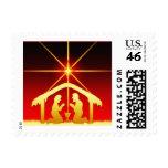 Christmas Nativity Postage Stamp