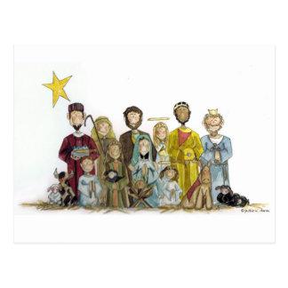 Christmas Nativity Post Cards
