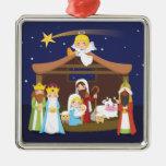 Christmas Nativity Scene Christmas Ornament