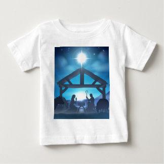 Christmas Nativity Scene Tee Shirt