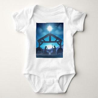 Christmas Nativity Scene Infant Creeper