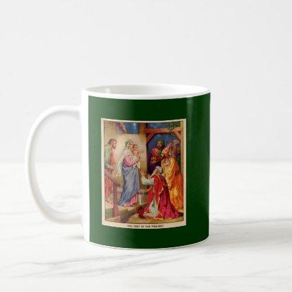 Christmas Nativity Scene Wisemen mug