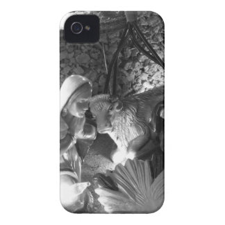 Christmas nativity scene with figurines iPhone 4 Case-Mate case