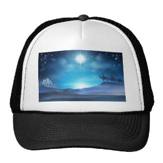Christmas Nativity Star and Wise Men Hats