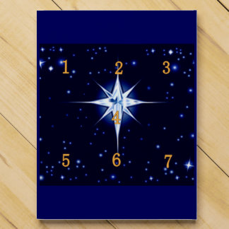 Christmas Nativity Star Countdown Calendar