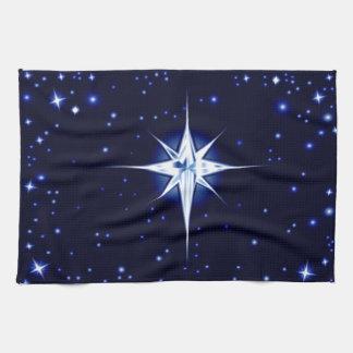 Christmas Nativity Star Hand Towel