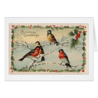 Christmas Nature Customized with your name Card