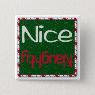Christmas Naughty or Nice List button
