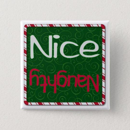 Christmas Naughty or Nice List button