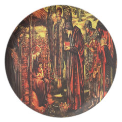 Christmas Navity Religious Wall Plate