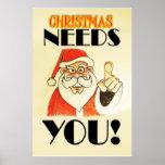 Christmas NEEDS YOU! Print