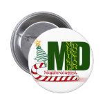 Christmas Nephrologist - Physician Specialist 2 Inch Round Button
