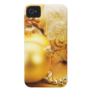 christmas new year celebration 2014 iPhone 4 Case-Mate case