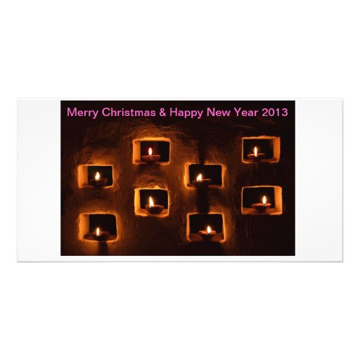 Christmas & New Year greeting card Photo Cards