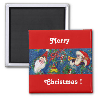 CHRISTMAS NIGHT 2 INCH SQUARE MAGNET