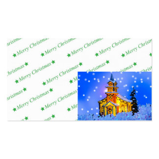 Christmas Night Business Card