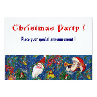 CHRISTMAS NIGHT HOLIDAY PARTY CARD