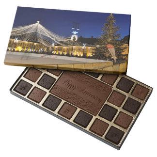 Christmas night in Sibiu, Romania 45 Piece Assorted Chocolate Box