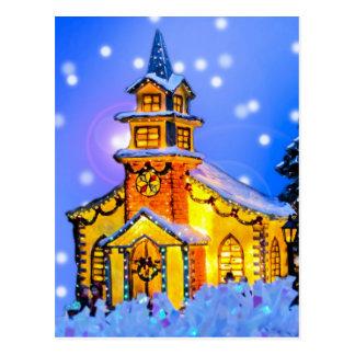 Christmas Night Postcard