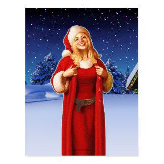 """""""Christmas Night"""" Postcard"""