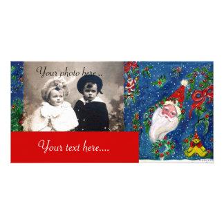 CHRISTMAS NIGHT / SANTA CARD