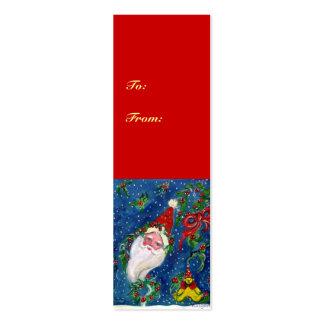 CHRISTMAS NIGHT / SANTA CLAUS MINI BUSINESS CARD