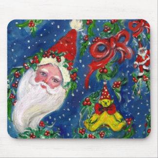 CHRISTMAS NIGHT / SANTA MOUSE PAD