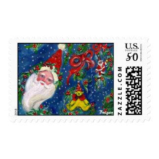 CHRISTMAS NIGHT / SANTA POSTAGE