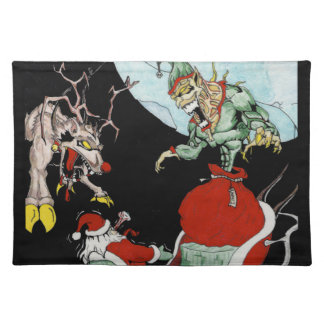 Christmas nightmare Place-mats Placemat
