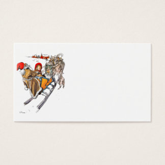 Christmas Nisse and Kersti Business Card