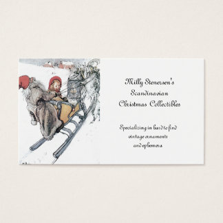 Christmas Nisse and Kirsti Business Card