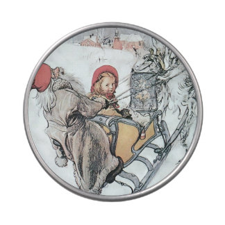 Christmas Nisse and Kirsti Jelly Belly Tins