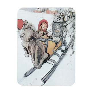 Christmas Nisse and Kirsti Magnet