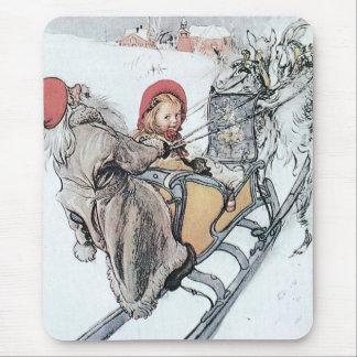 Christmas Nisse and Kirsti Mousepad